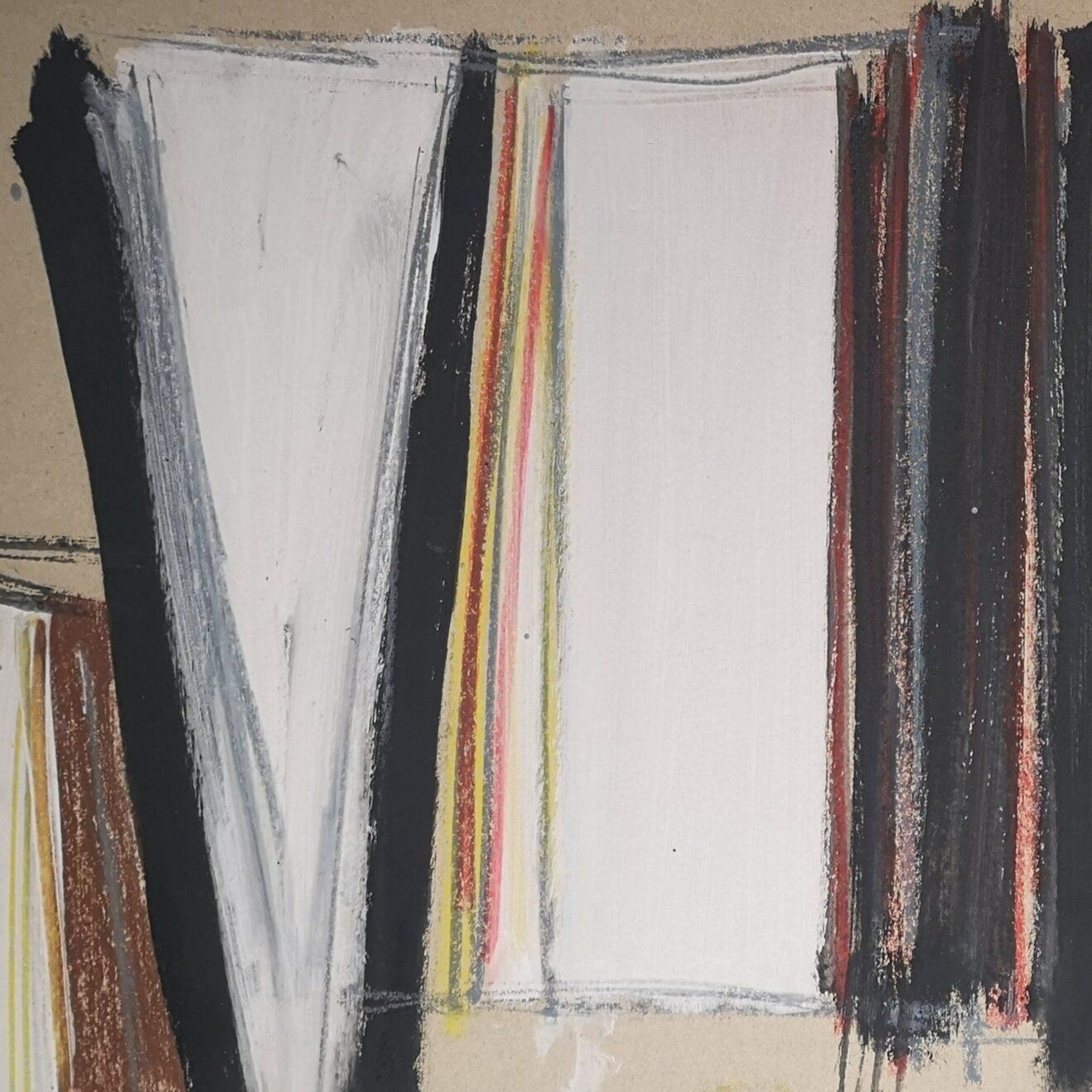 Untitled 1959 Oil on Board