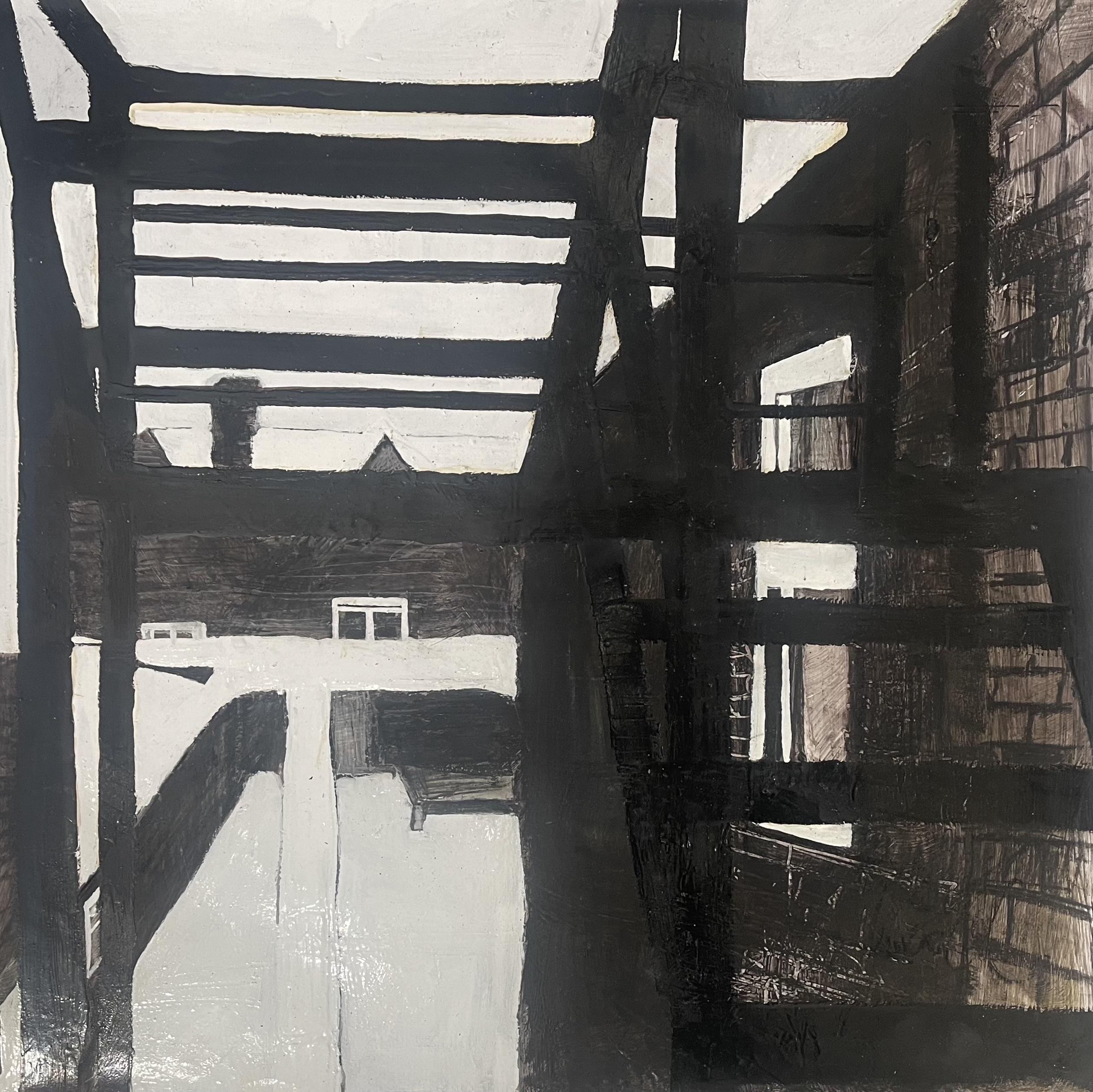 The Backs (Snow. Fire Escape)